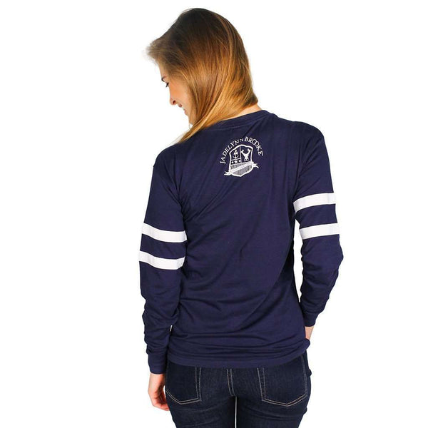 Long Sleeve North Carolina College Jersey by Jadelynn Brooke - FINAL SALE
