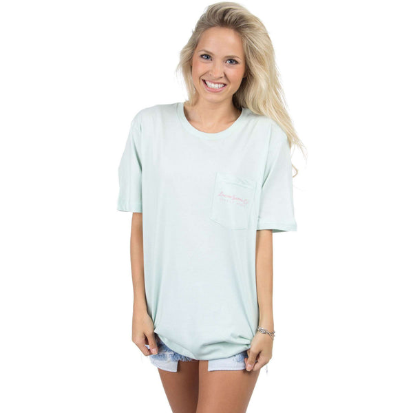 Love Me Some Alabama Tee in Mint by Lauren James - FINAL SALE