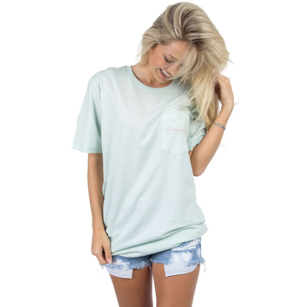 Love Me Some Florida Tee in Mint by Lauren James - FINAL SALE