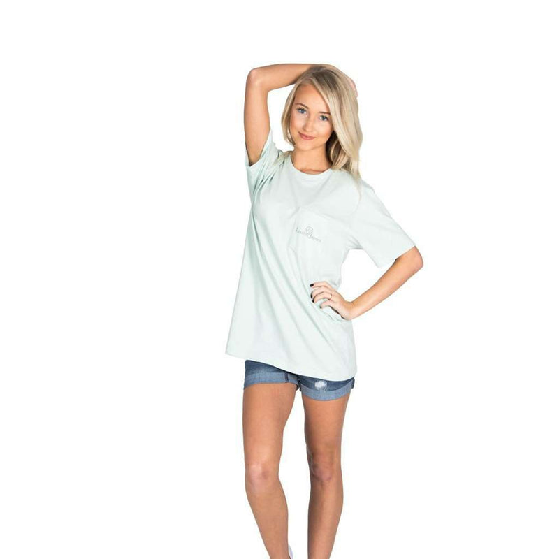 Magnolia Mornings in Mint by Lauren James - FINAL SALE