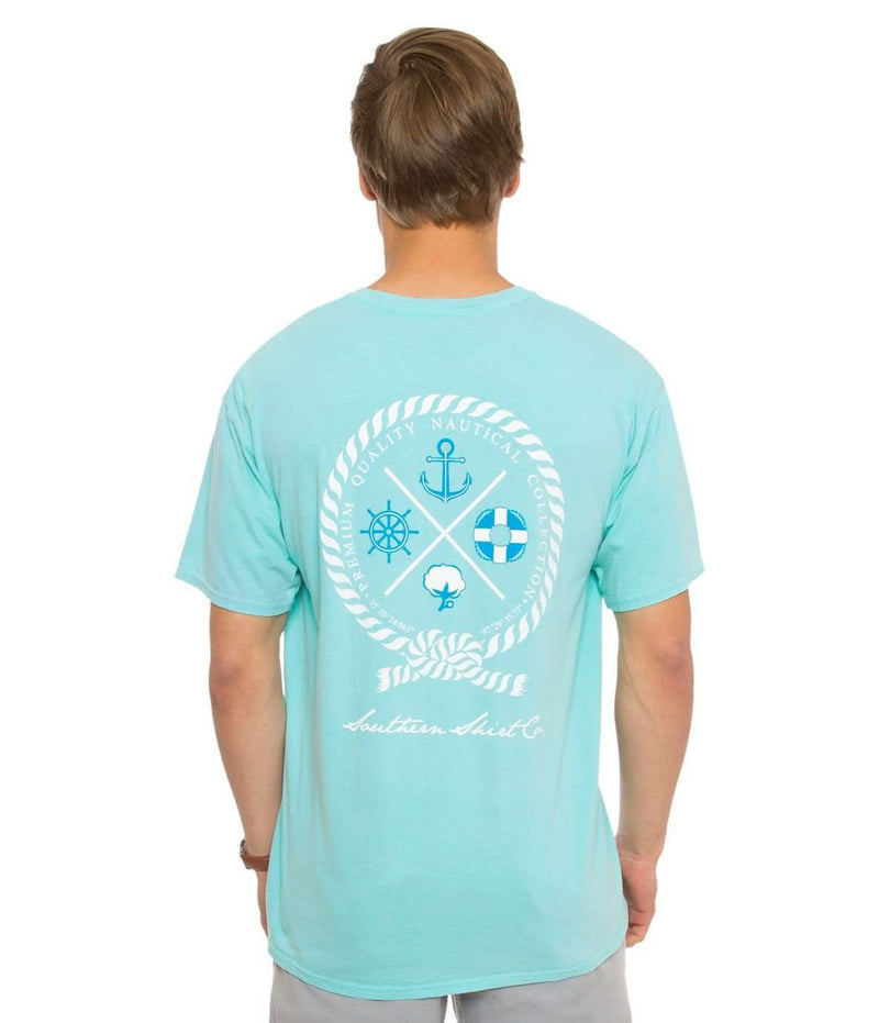 Nautical Rope Tee in Chalky Mint by The Southern Shirt Co.