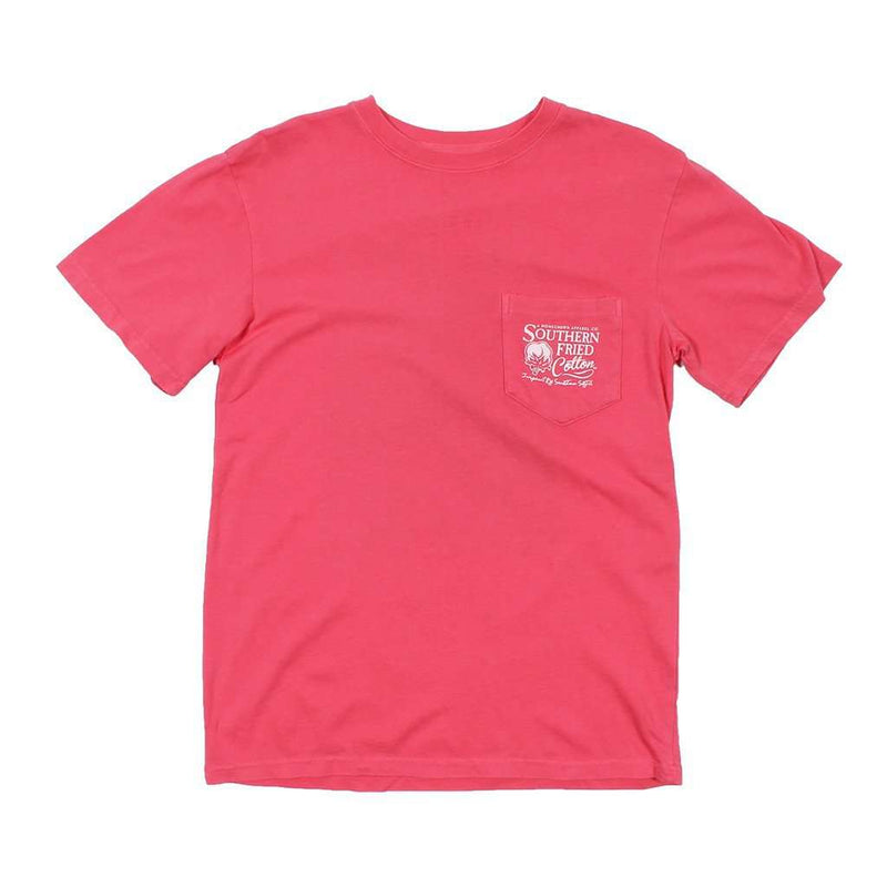 Women's Tee Shirts - Reed Tee Shirt In Watermelon By Southern Fried Cotton