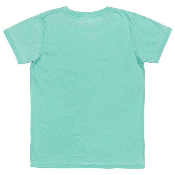 Women's Tee Shirts - SEAWASH™ Rustic Trademark Crewneck Tee In Mint By Southern Marsh