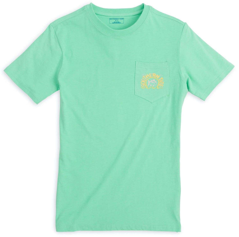 Women's Tee Shirts - Sun, Sea & Sand Tee In Seaglass By Southern Tide