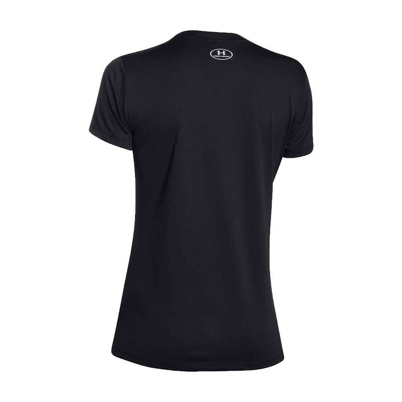 Women's Tee Shirts - Women's UA Tech™ V-Neck In Black By Under Armour - FINAL SALE