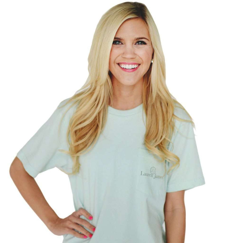You're the Mint to my Julep Tee in Mint Green by Lauren James - FINAL SALE