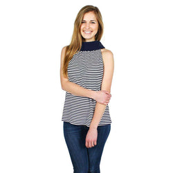 Women's Tops - Buttoned Up At Bradley's Top By Sail To Sable - FINAL SALE