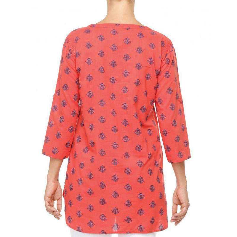 Classic Tunic in Coral Thistle by Hatley - FINAL SALE