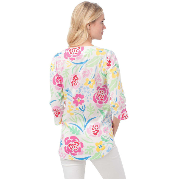 Isla Tunic in Kiawah Floral by Southern Tide