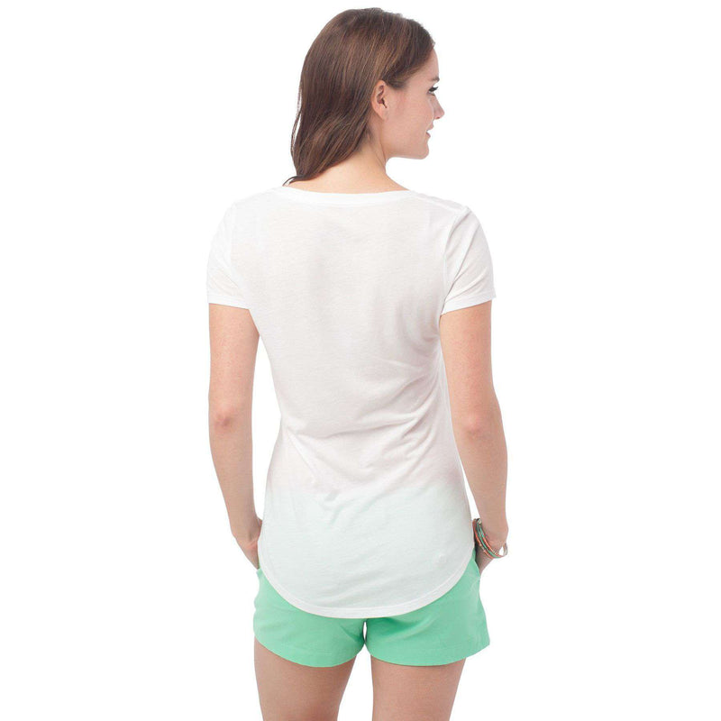Katherine Tee in Classic White by Southern Tide