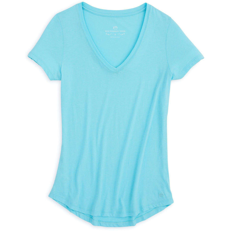 Katherine Tee in Crystal Blue by Southern Tide