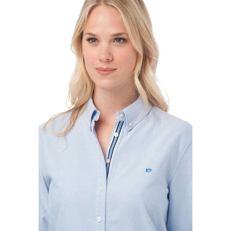 Madison Oxford Shirt in Boat Blue by Southern Tide