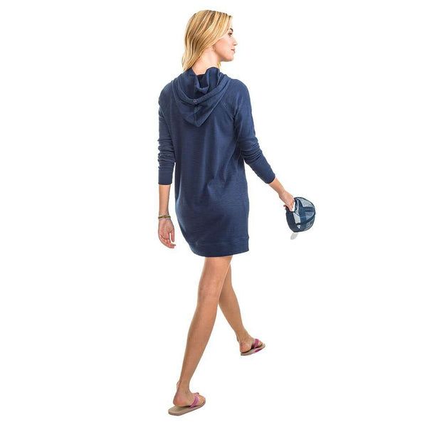 Women's Tops - Ocean Front Tunic In Nautical Navy By Southern Tide