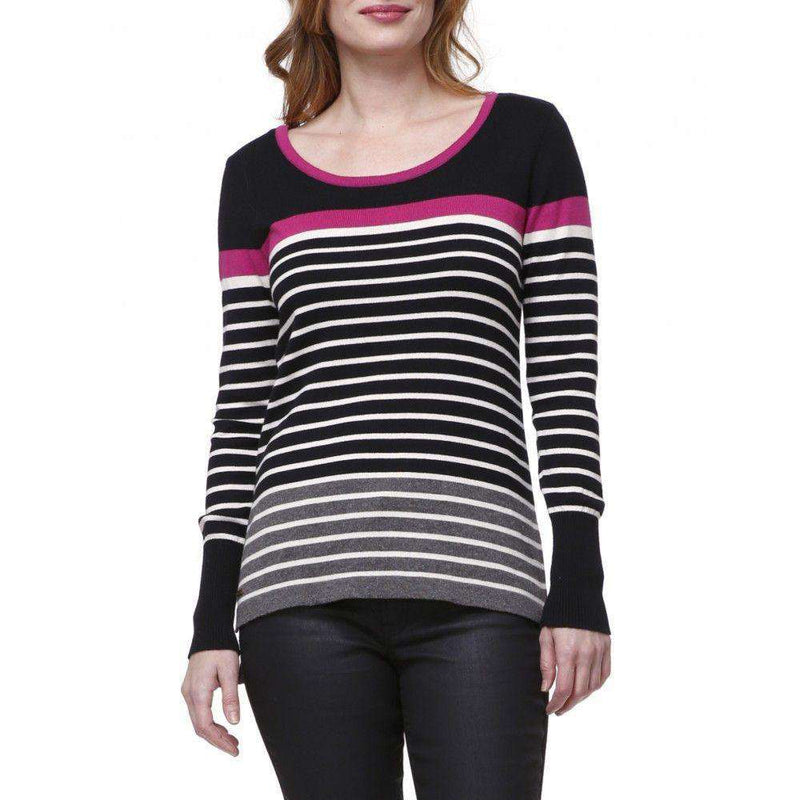 Striped Sweater in Black and Cream by Hatley - FINAL SALE