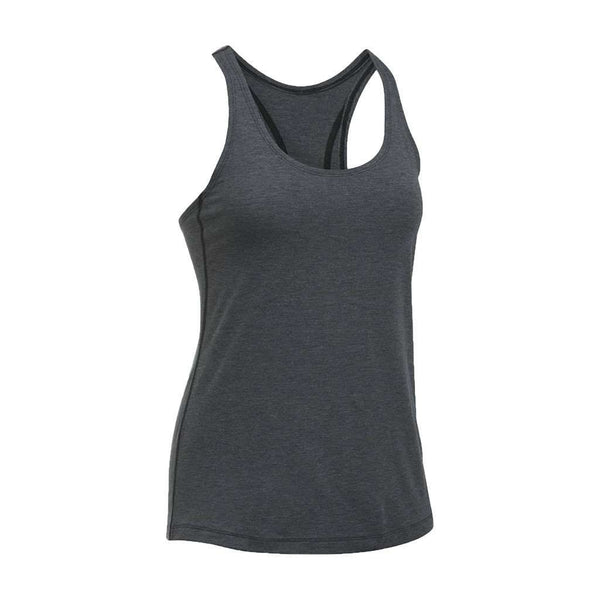 Women's Tops - Women's UA Skyward Tank Top In Asphalt Heather By Under Armour - FINAL SALE