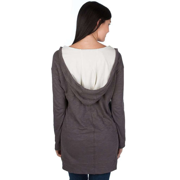 Women's Tops - Zoey Tunic In Grey By Lauren James - FINAL SALE