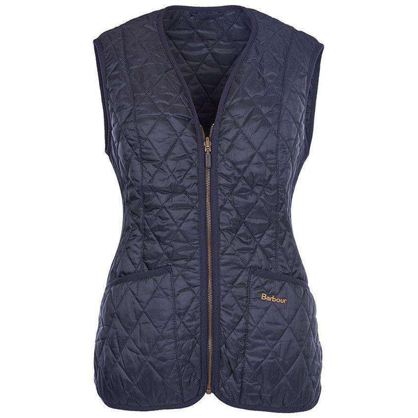 Women's Vests - Betty Interactive Gilet Liner In Navy By Barbour