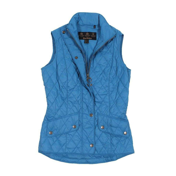 Women's Vests - Flyweight Cavalry Quilted Gilet In Beachcomber By Barbour