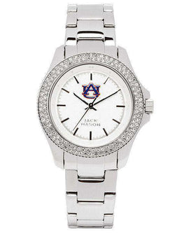 Women's Watches - Auburn Tigers Ladies Glitz Sport Bracelet Watch By Jack Mason