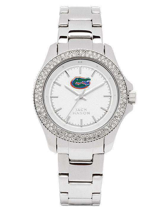 Women's Watches - Florida Gators Ladies Glitz Sport Bracelet Watch By Jack Mason