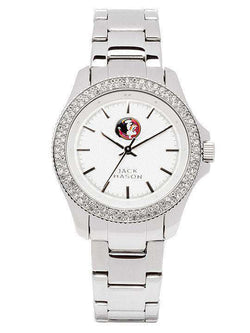 Women's Watches - Florida State Seminoles Ladies Glitz Sport Bracelet Watch By Jack Mason