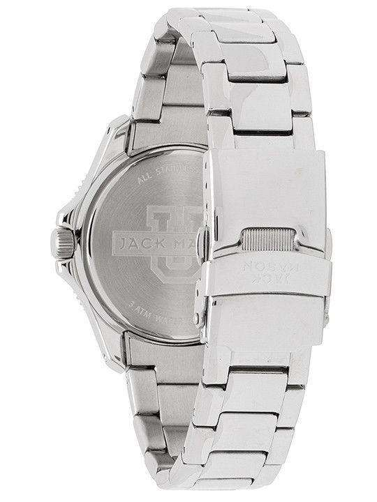 Georgia Bulldogs Ladies Glitz Sport Bracelet Watch by Jack Mason - FINAL SALE