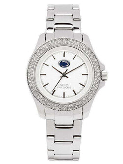 Women's Watches - Penn State Nittany Lions Ladies Glitz Sport Bracelet Watch By Jack Mason