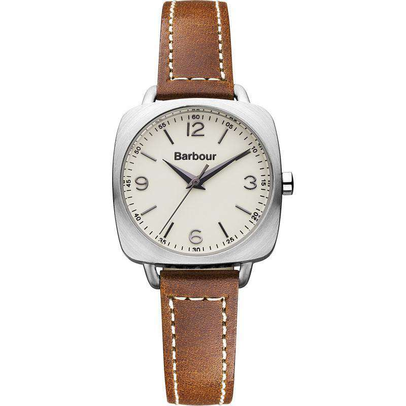 Women's Watches - Women's Chapton Watch In Brown Leather By Barbour