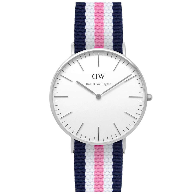 Women's Watches - Women's Classic Southampton Watch In Silver By Daniel Wellington