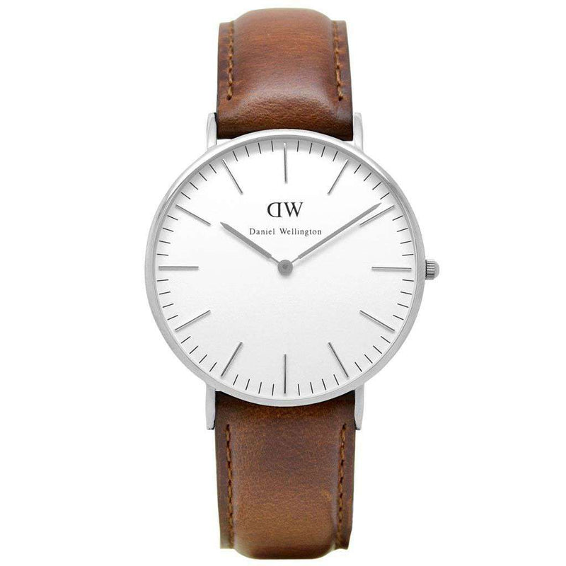 Women's Classic St Mawes Watch in Silver by Daniel Wellington