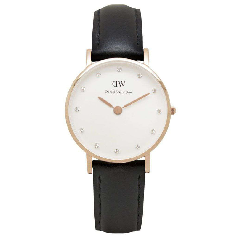 Women's Watches - Women's Classy Sheffield Watch In Rose Gold By Daniel Wellington