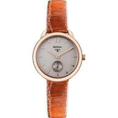 Women's Watches - Women's Whitley Watch In Brown Leather By Barbour