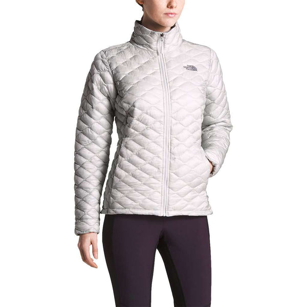The North Face Women's Thermoball Jacket in Tin Grey / Kelpie Green by The North Face
