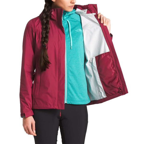 The North Face Women's Venture 2 Jacket in Rumba Red