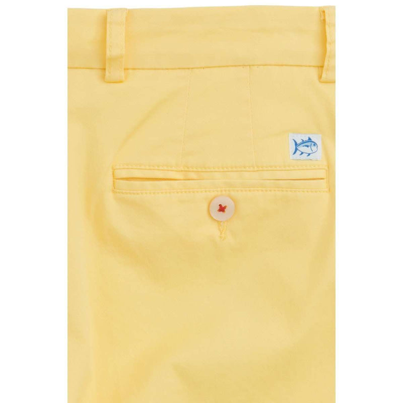 "Summer Weight 7"" Channel Marker Short in Sunshine by Southern Tide - FINAL SALE"
