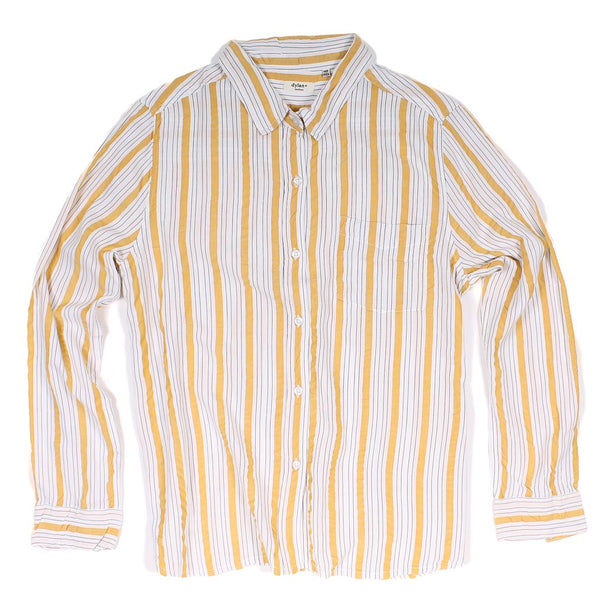 Sunny-Side Stripe Long Sleeve Pocket Tee by True Grit (Dylan)