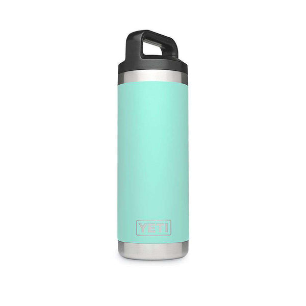 YETI 18 oz. Rambler Bottle in Seafoam