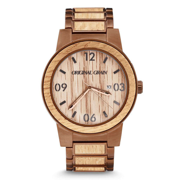 Original Grain Whiskey Barrel Watch by Original Grain