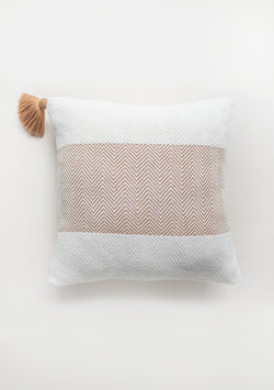 One Fringe Copper Pillow - Lula Mena