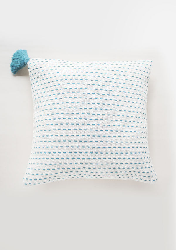 Turquoise Point Pillow - Lula Mena