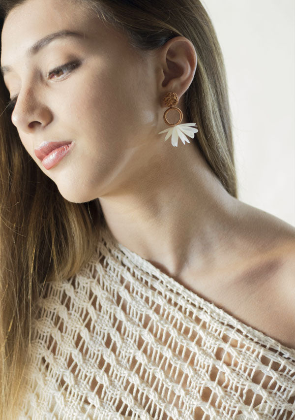 Small Moon Earrings - Lula Mena