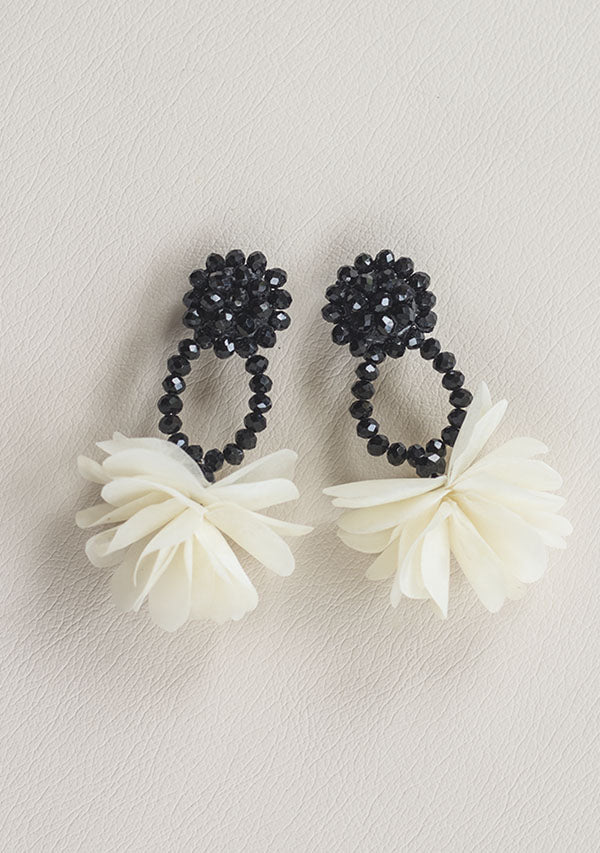 Black Ocean Tide Earrings - Lula Mena