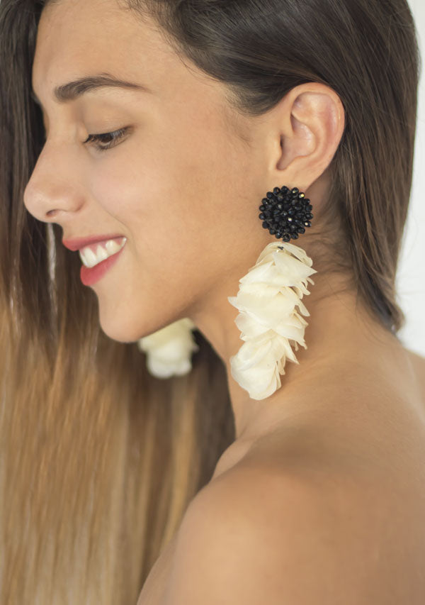 Long Drop Earrings - Lula Mena