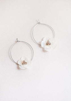 Rose Water Earrings - Lula Mena