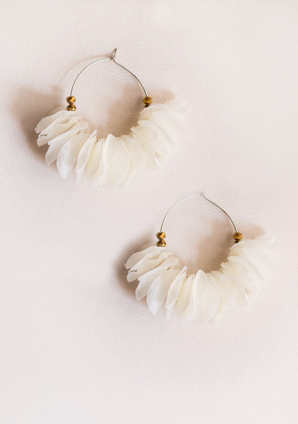 Seawaves Earrings with Crystals - Lula Mena