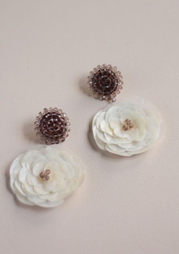 Queen Rose Earrings - Lula Mena