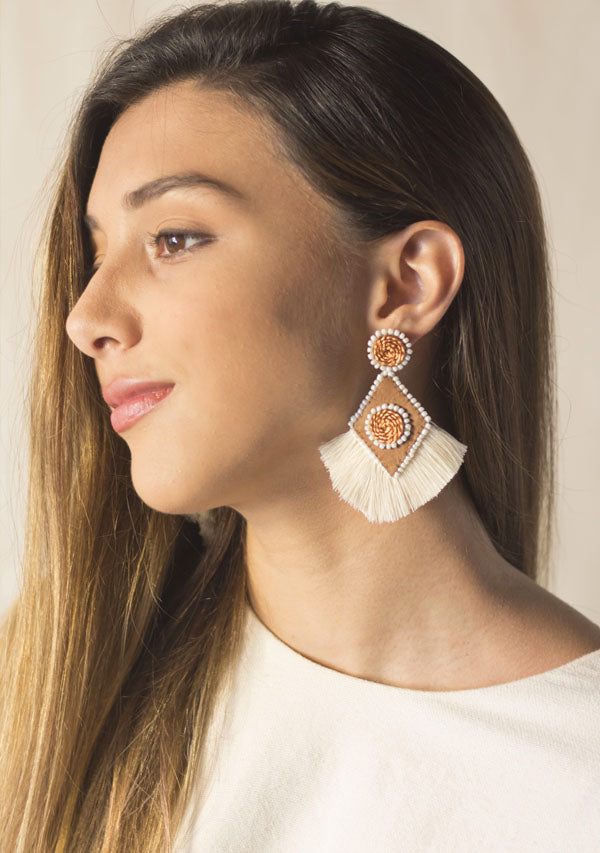 Rhombus Earrings - Lula Mena