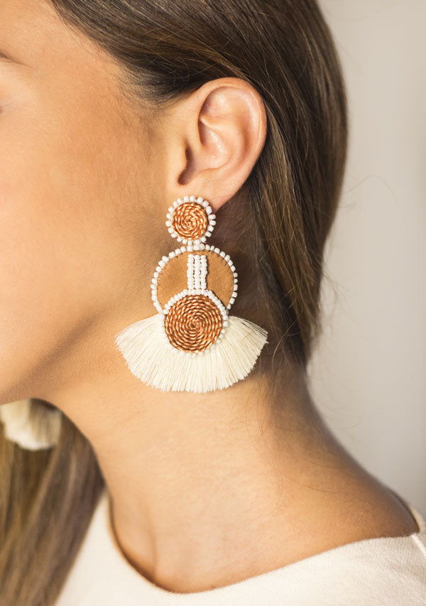 Double Sun Earrings - Lula Mena