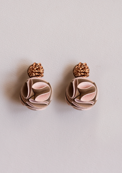 Small Rose Earrings - Lula Mena