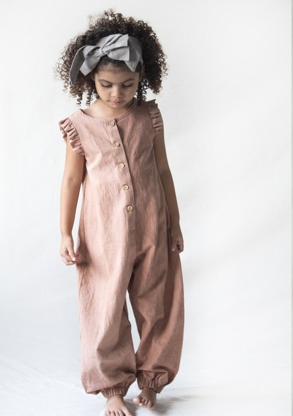 Dusty Rose Jumpsuit